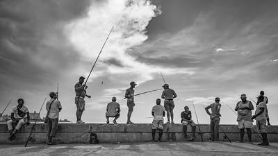 Malecon fisherman ... Havana