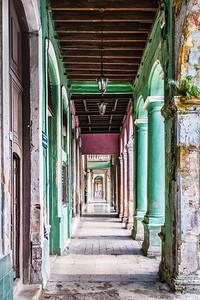 Sidewalk, Havana Viejo