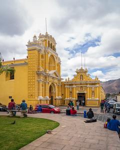 Iglesia de San Pedro, Antigua, Guatemala, 2020