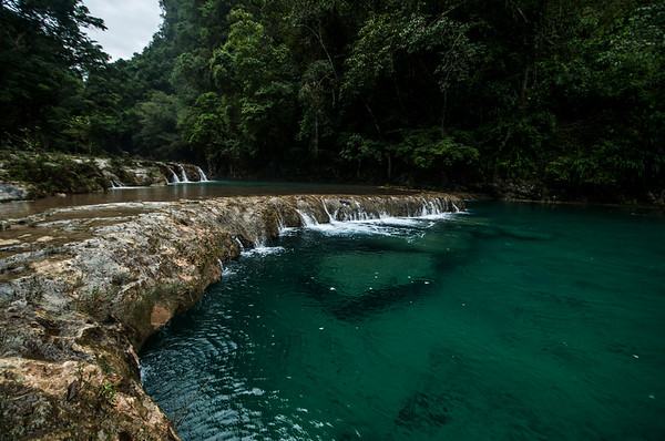 Cascading step pools of Semuc Champey