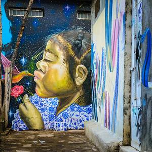 Grafitti, San Pedro, Guatemala