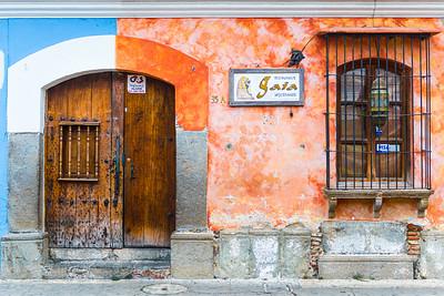 Street colours, Antigua, Guatemala