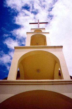 cross at santiago color