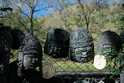 Mayan Masks, Honduras 2008