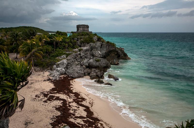 Tulum Ruins lookout