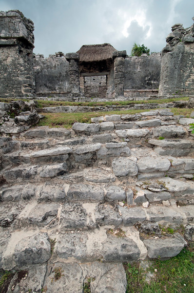 Staircase to Tulum Ruins