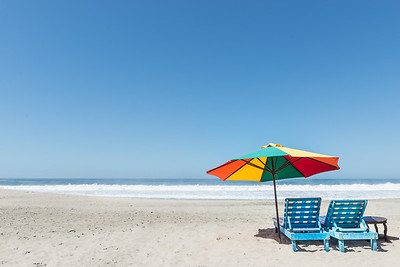Beach chairs ... Oaxaca ... Mexico