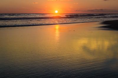 Sunset, Barra Beach, Oaxaca, Mexico