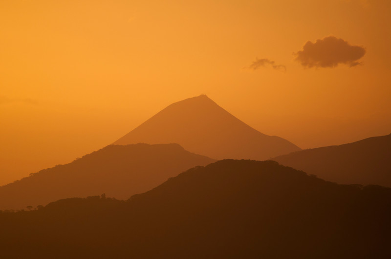 Sunrise from Volcan Telica