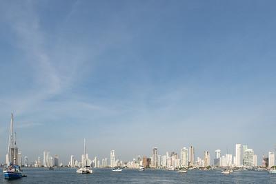 Cartagena skyline ... Colombia