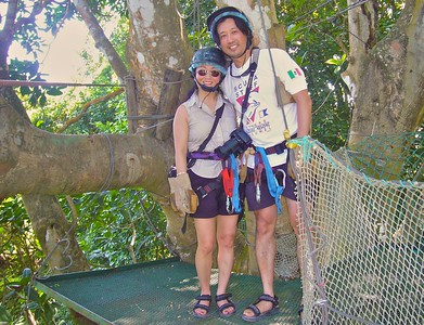 Ready for the zipline canopy tour