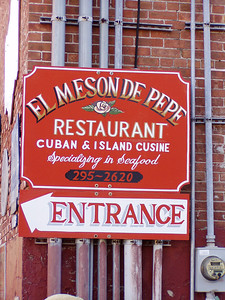 Mmmm.... good Cuban food.