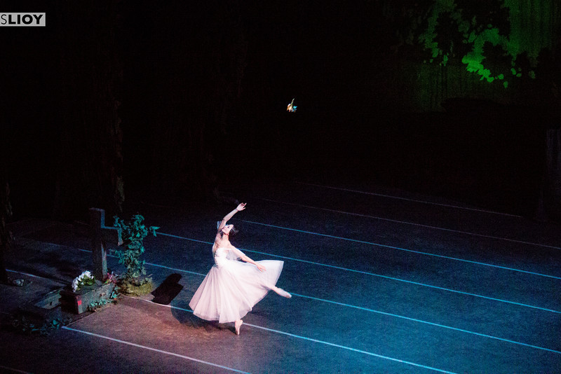 Gisselle ballet in Bishkek.