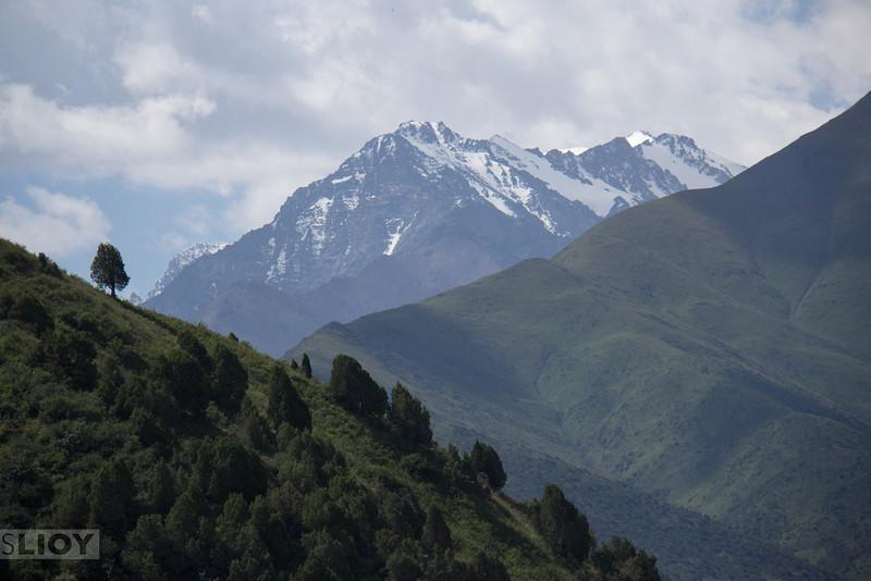 Bir-Bulak Canyon just outside of Bishkek.