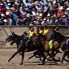 Horse races in Kyrgyzstan.