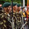 Kyrgyz soldiers on Parade.