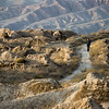 A tourist wanders the ruins of Old Penjikent in the Fann Mountains region of Tajikistan.