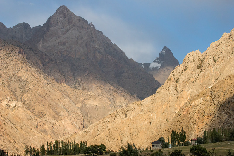A small settlement in the Yagnob Valley of Tajikistan.
