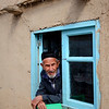 Old Man in the Window - Istravshan