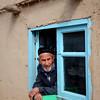 Old Man in the Window - Istravshan