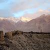 Yamchun Fortress high above the Tajik Wakhan.