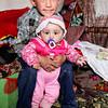 Siblings in Murghab