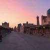 Sunset near the Kalon Minaret in Bukhara