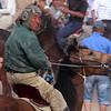 Kokpar rider on horse