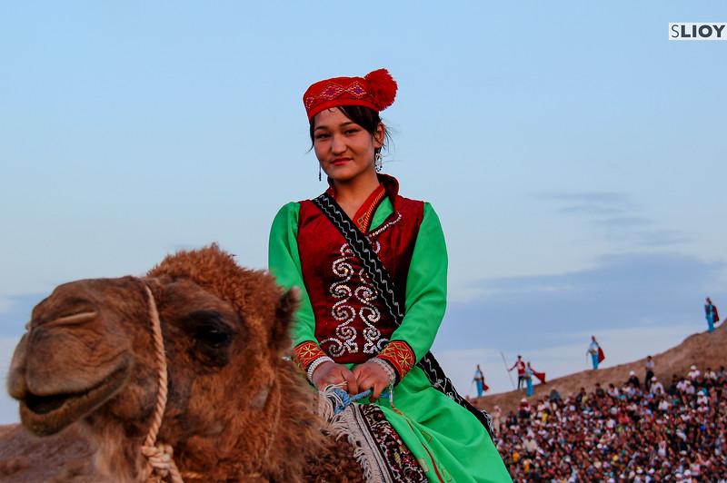 Uzbek girl at the Arslar Sadosi Festival