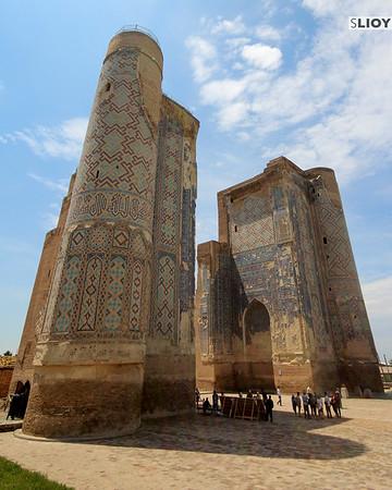 Temir's Palace in Shakrisabz