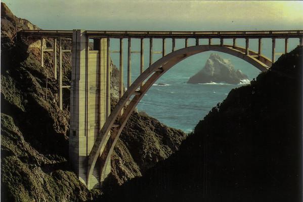 Bixby Creek Bridge postcard