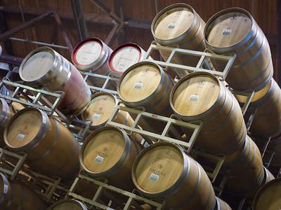 Wine Barrels, Los Olivos CA