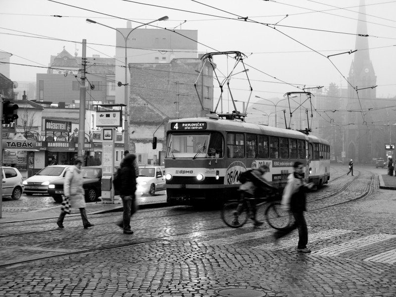 An Olomouc Tram.