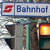 Bahnhof in Payerbach.
