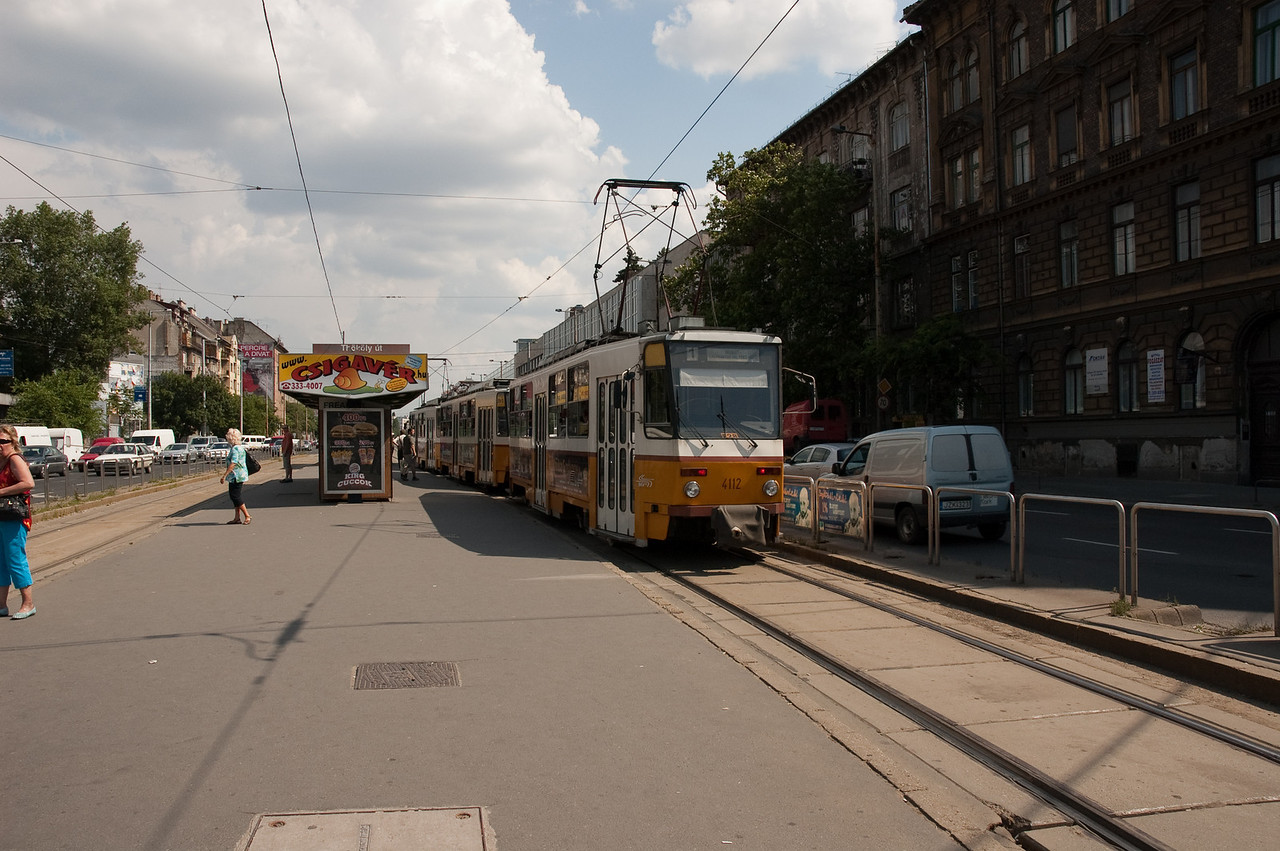 I just love trams! (we do not have them anymore in Denmark :-) )