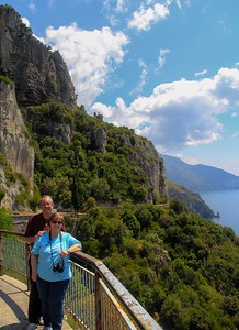 """We hired a born and bred Italian tour guide to take us out of Rome to Positano, Pompeii and back. His English was accent free, then he revealed he graduated from OU in Norman Okla., once worked in Houston and knew exactly where our suburb is. An """"I was there"""" exchange regarding NCAA football was the last thing I had expected from this day!"""