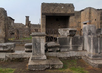 Several looters briefly tunneled into the ash and got a few valuables, but the risk and effort was deemed unreasonable. Survival was more important than finding and recovering what was left of Pompeii.