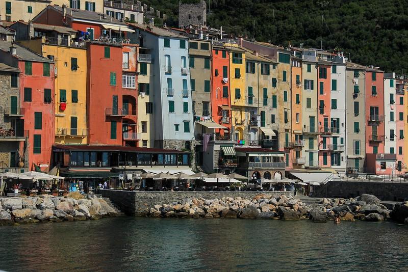 La Spezia, the launch spot for boat tours of Cinque Terre.
