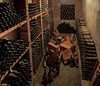 Wine cellar in Verrazano Winery.