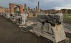 Two recent collapses of structures in Pompeii caused authorities to review care taking procedures.