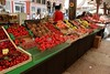 Outdoor markets in Verona.