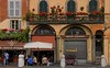 Businesses in Lucca.