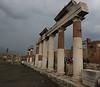 Main Plaza in Pompeii.