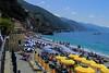 Monterosso beach.