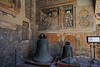 Bells from the Plaza Comunale,  built in 1288. San Gimignano.