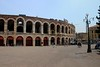 Verona has an old Roman theater that is still used a lot for concerts and gatherings of all types.