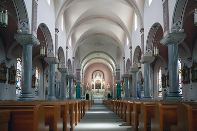St Fidelis Catholic Church - Interior
