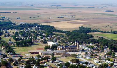 St Fidelis Catholic Church - Aerial