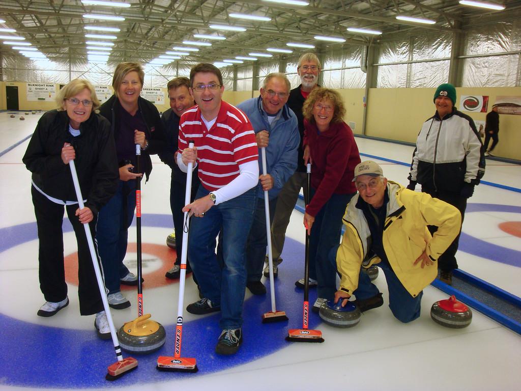 Curling in Nasby