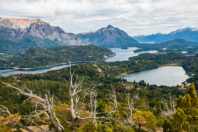 Lakes and Andes near San Carlos de Bariloche